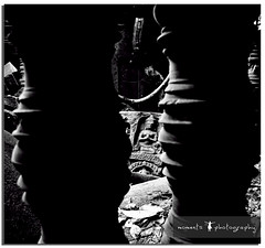 follow the light inside..and you will find divinity.. (PNike (Prashanth Naik..back after ages)) Tags: light bw sculpture building broken temple blackwhite nikon ruins asia cambodia darkness structure siem reap siemreap wat d7000 pnike dilapadates