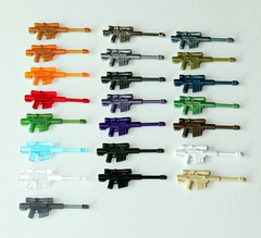 HCSR Collection 10/08/11 (*Clone Command* Collectable Minifigures) Tags: blue red white black green gun lego m1 rifle helmet tan assault camo weapon sniper pistol spy sword marker guns ba transparent trans smg paintball trade hsr m4 weapons collectable minigun carbine od m203 garand apoc tactical bipod m21 pdw ppsh ac8 dadao brickarms uclip hcsr gunmetel