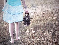 Warm autumn (Stexi) Tags: autumn girl beauty shoes warm walk