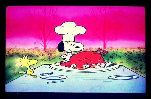 thankful for snoopy & woodstock