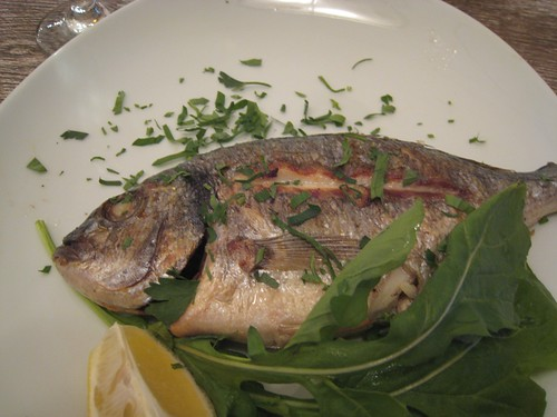 Sea Bream for dinner