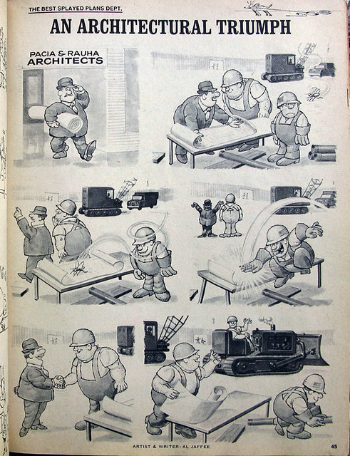 Al Jaffee: An Architectural Triumph