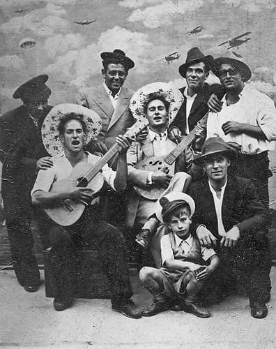 Cantaores flamencos.