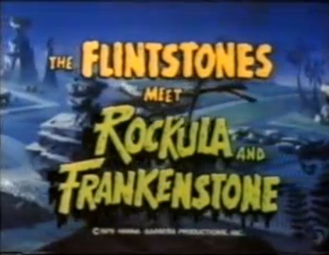 Flintstones Meet Rockula and Frankenstone titles