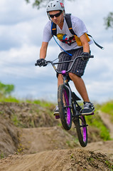 Mountain Bike 5 (christianrehm77) Tags: mountain sports bike shot action awesome sigma trail freeze 70200 brevard gft simga d7000 sb700