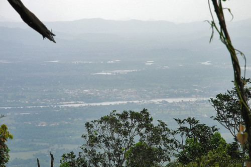 Kampot from the mountain