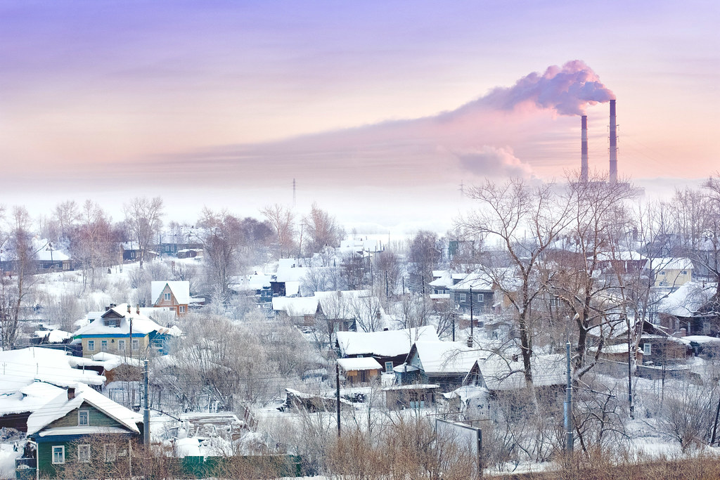 Arkhangelsk, winter