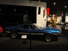 69 Shelby Mustang GT350 (DVS1mn) Tags: california ca cars 1969 car museum los automobile angeles nine automotive 69 sixty nineteen petersen nineteensixtynine