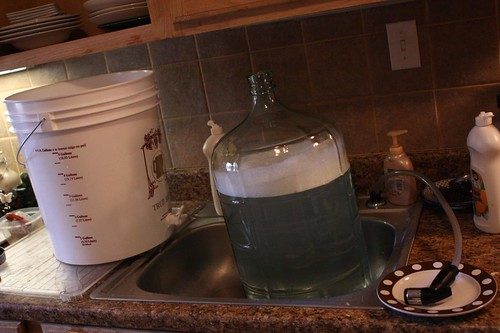 Sanitizing Brewing Supplies
