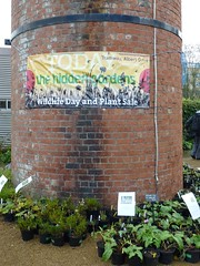 Wildlife Open Day banner on chimney