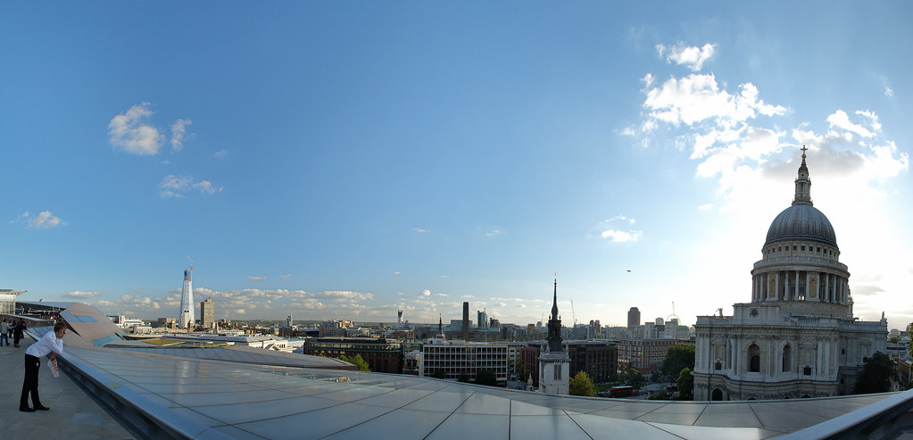 The view south - London from One New Change