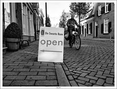Re processed Doesburg Streetshot (Strange Artifact) Tags: bw olympus doesburg ep1 13556 2442 mzuiko