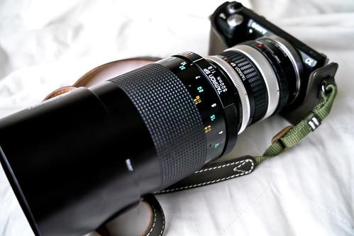 Sony NEX-5N + TAMRON 55BB + 2xConverter
