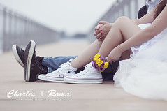 Charles + Roma | E-Session (ProBasti) Tags: love couple converse lovely chucktaylor prenup kuatromedya