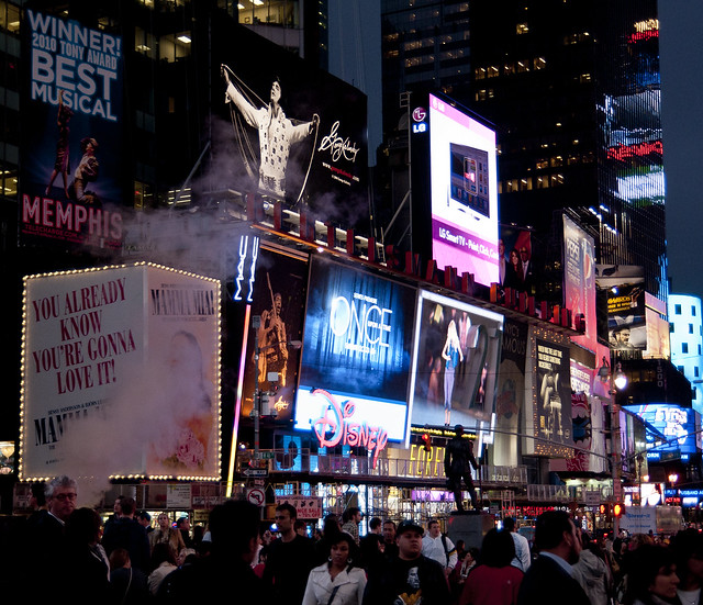 """Times Square • <a style=""""font-size:0.8em;"""" href=""""http://www.flickr.com/photos/32810496@N04/6272181650/"""" target=""""_blank"""">View on Flickr</a>"""