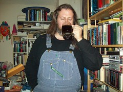 A welcome quaff (Jaquandor) Tags: beer glass key overalls oatmealstout hickorystripe