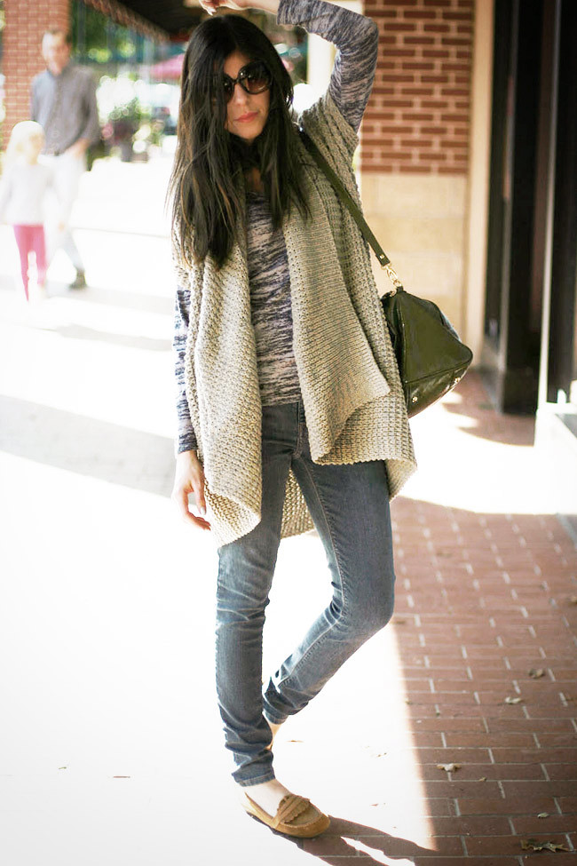Tan Suede Moccasins, Fashion Outfit, Skinny Jeans