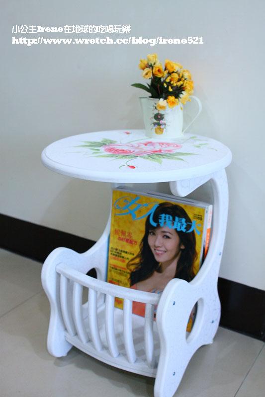特力屋-鄉村風彩繪小邊桌