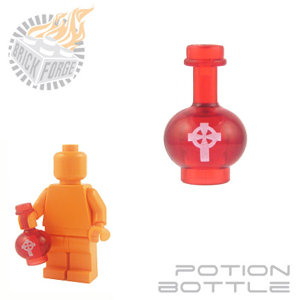 Potion Bottle - Trans Red (Health)