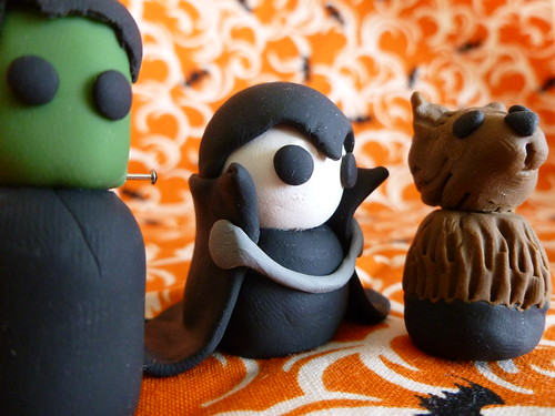 Little Halloween Friends: Frank, Drac, and Wolfie