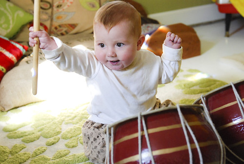 heart baby has a strong beat!