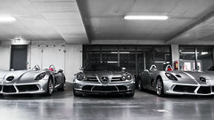SLR Threesome (Thomas van Rooij) Tags: lighting light slr cars netherlands car speed silver photography mercedes benz moss insane crazy nikon shot thomas stirling garage awesome extreme nederland bert fast automotive exotic german mclaren mercedesbenz arrow sick limited edition luxury rare exclusive supercar exotics supercars combo roadster veenendaal pfeil 722 d90 hypercar stemerdink rooij hypercars silfer thomasvanrooij