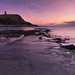 Twilight at Kimmeridge Bay, Jurassic Coast, Dorset, England