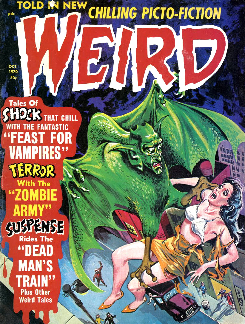 Weird Vol. 04 #5 (Eerie Publications, 1970)
