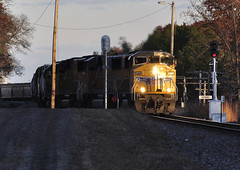 Yard Work (Philip_Martin) Tags: up wisconsin adams pacific union signal wi sd60m 2312