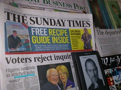 Sunday News after Irish Election