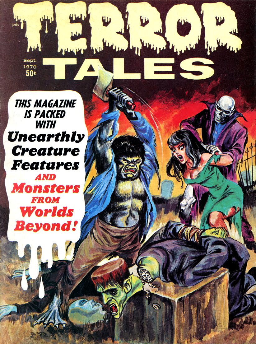 Terror Tales Vol. 02 #5 (Eerie Publications, 1970)