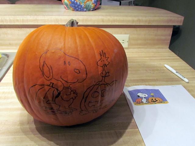 Snoopy-O-Lantern