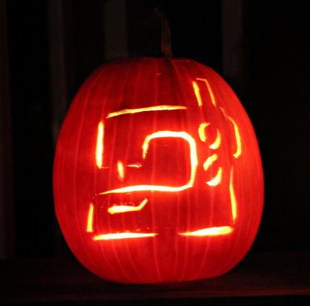 my pumpkin. :)