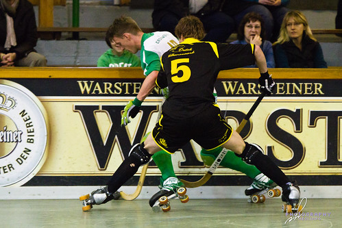 Rollhockey Bundesliga: RSC Cronenberg vs. Valkenswaardse RC