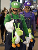 Luigi and Waluigi with Yoshi (San Diego Shooter) Tags: portrait halloween sandiego cosplay streetphotography halloweencostumes downtownsandiego sexyhalloween sexyhalloweencostumes sandiegopeople sandiegostreetphotography sandiegohalloweencostumes halloweencostumes2011 sandiegohalloween2011