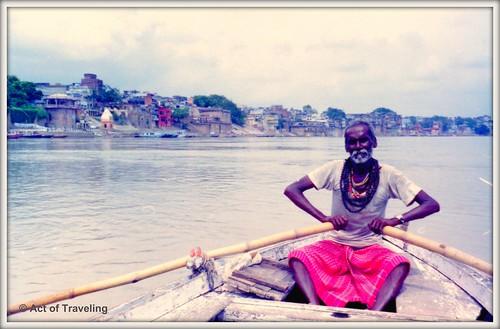 Rowing - Ganges in Varanasi