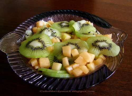 Kiwi, Melon & Ginger Salad