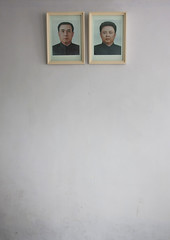 Kim Il Sung and Kim Jong Il portraits - North Korea (Eric Lafforgue) Tags: war asia korea asie coree northkorea dprk coreadelnorte nordkorea 8614 북한 北朝鮮 корея coreadelnord 조선민주주의인민공화국 северная insidenorthkorea 朝鮮民主主義人民共和国 rpdc βόρεια kimjongun coreiadonorte เกาหลีเหนือ