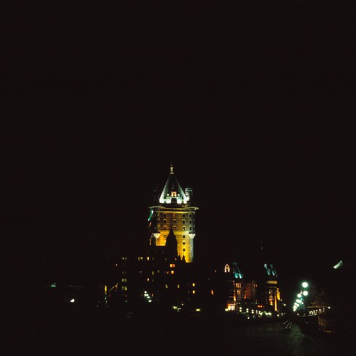 Tower of Chateau Frontenac, Quebec City