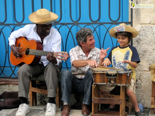 Playing Music With Cubans
