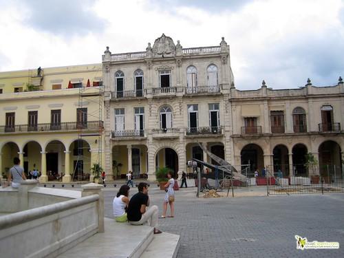Plaza in Havana Vieja - Cuba
