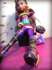 these boots (teakitty) Tags: 2 werewolf wolf doll wave mattel schoolsout clawdeen monsterhigh