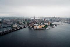 Gamla Stan (Stockholm) (oo Felix oo) Tags: trip travel europa cityscape cloudy felix sweden stockholm aerialview ciudad viajes nublado martinez estocolmo suecia viajar vistaaerea felmar