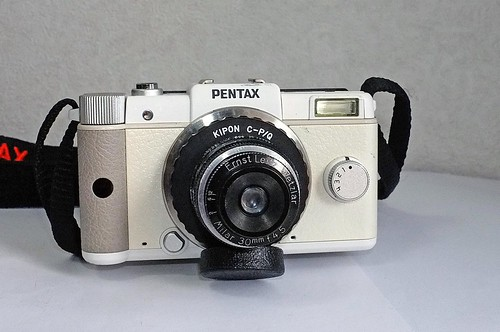 Pentax Q with Milar 30mm f4.5