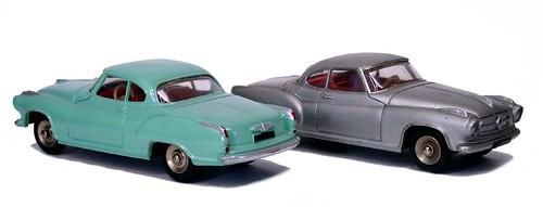 Dinky F Borgward Isabella coupé