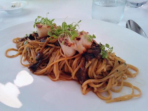 Scallop Pasta Special
