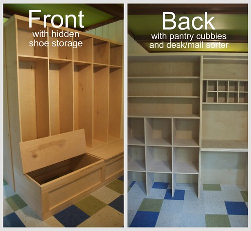 Mudroom solution: Ardmore house