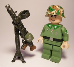 AA MG34 Brickarms WWII (MR. Jens) Tags: world two germany soldier war lego wwii german ww2 second aa soldat maschinengewehr mg34