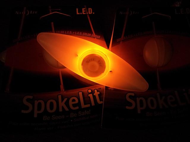 My new SpokesLit L.E.D lamp
