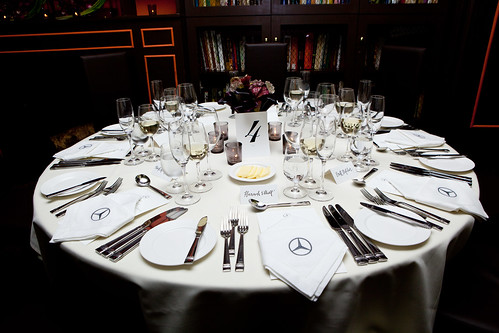 Larger table setting